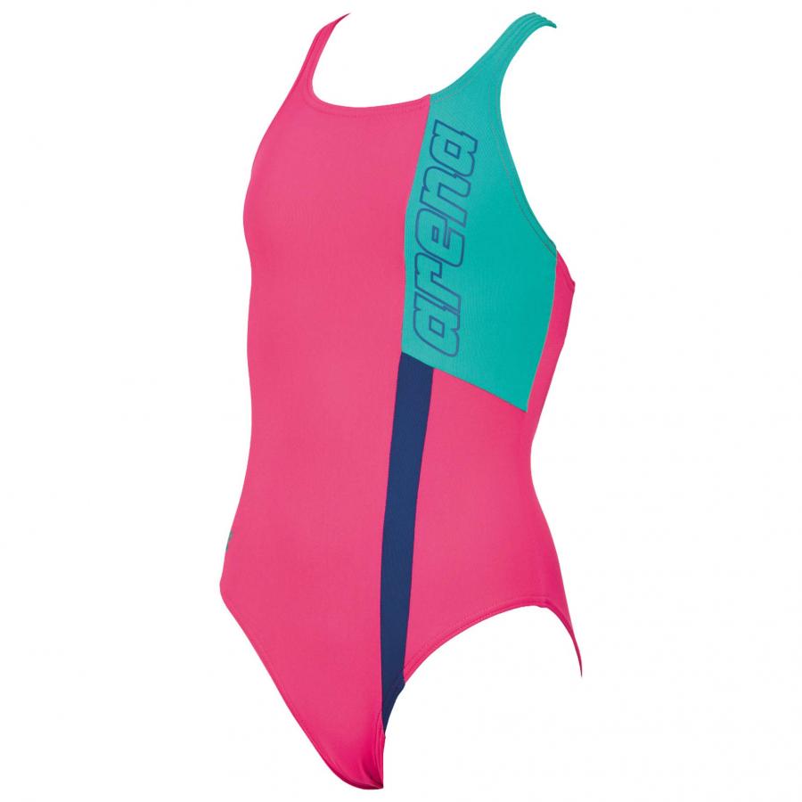 Arena Ipanema Girls Swimming Costume - Pink