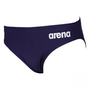Arena Youth Solid Swim Brief - Navy Blue