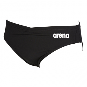 Arena Solid Swim Brief - Black