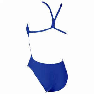 Arena 'Solid LightTech' High Leg Royal Blue Swimsuit