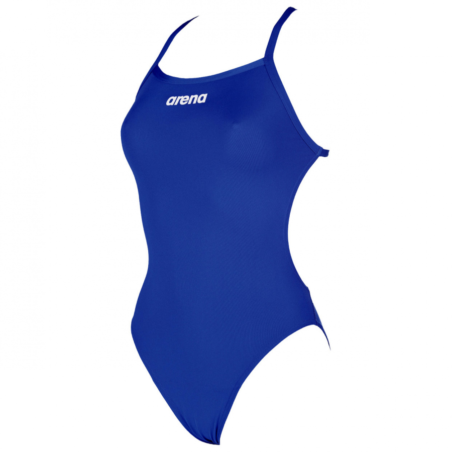 Arena 'Solid LightTech' High Leg Royal Blue Swimsuit