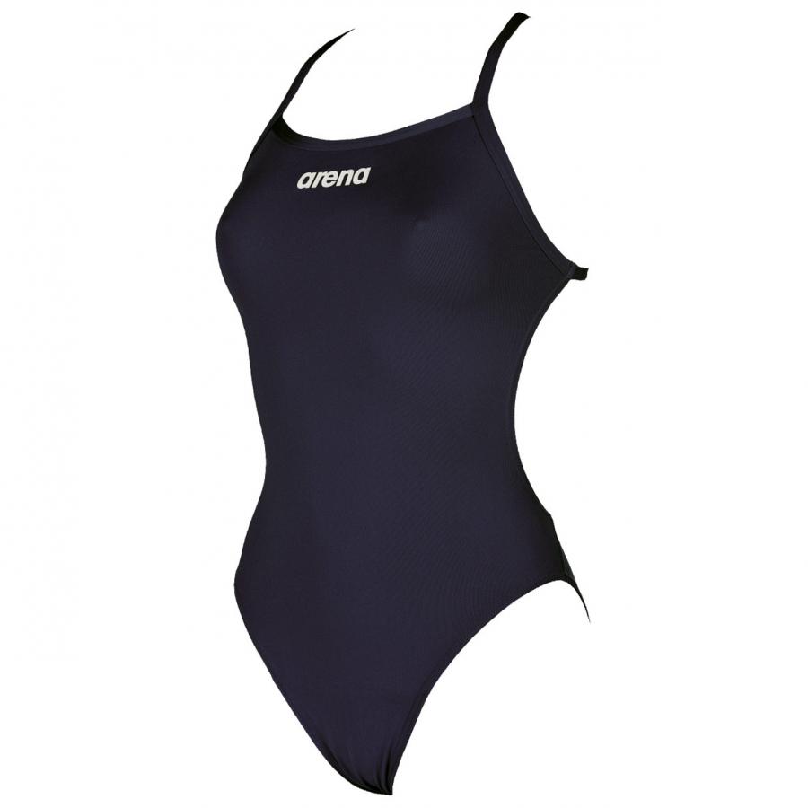 Arena 'Solid LightTech' High Leg Navy Blue Swimsuit