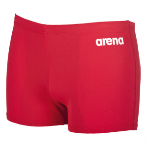Arena Solid Swim Shorts - Red