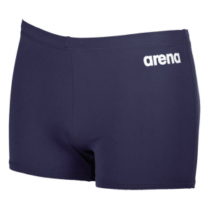 Arena Solid Swim Shorts - Navy Blue