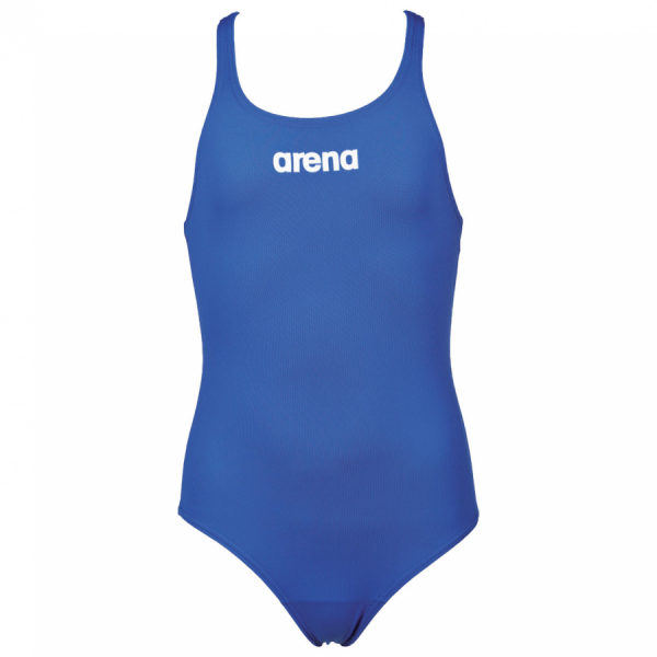 Arena Solid Pro Girls Royal Blue Swimsuit