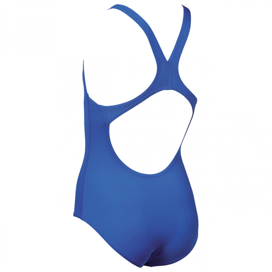 Arena Solid Pro Girls Swimsuit - Royal Blue