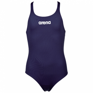 Arena Solid Pro Girls Navy Blue Swimsuit