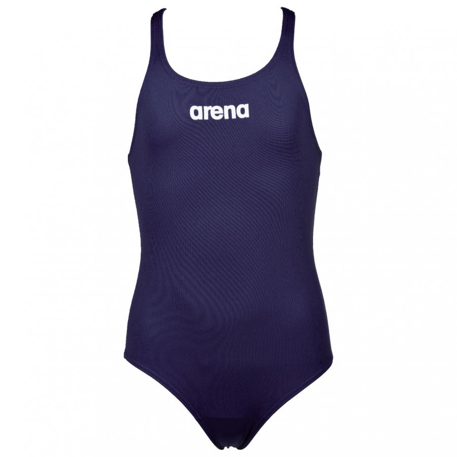 3ae29ea1 Girls Solid Swim Pro Junior Swimsuits Arena Blue