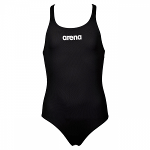 Arena Solid Pro Girls Swimsuit - Black