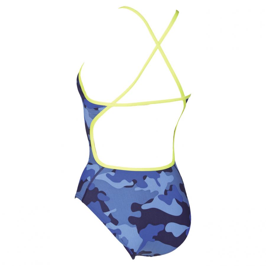Arena Chameleon Blue Swimsuit  **LINED**