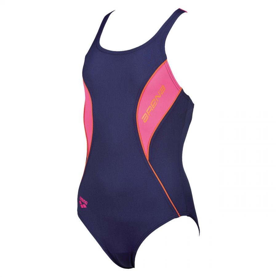 Arena Girls Swimming Costume - Fiord