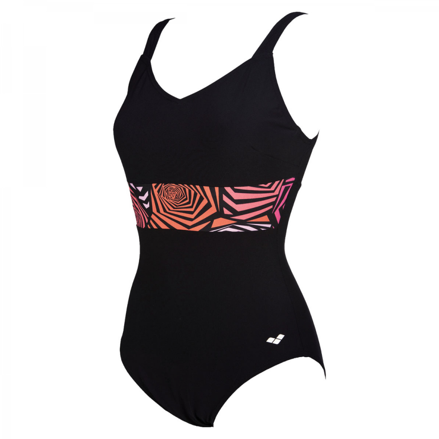 Arena Helga Wing Back Body Shaping Swimsuit
