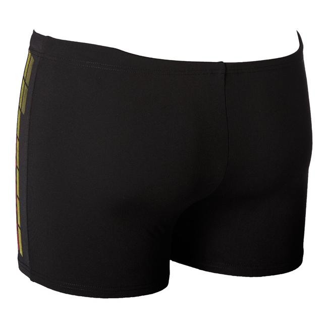Arena Magnus Black / Red Swim Shorts