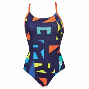 Arena Odense Swimsuit - Blue / Orange