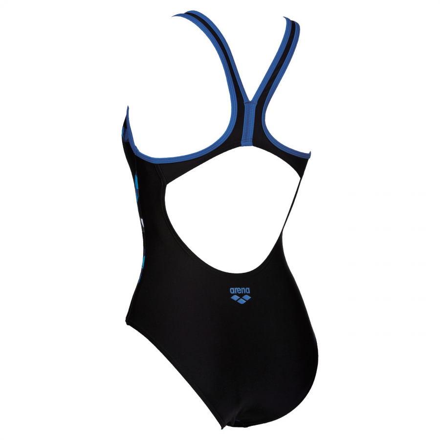 Arena Skogen Black / Blue Swimsuit