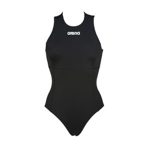 Arena Solid Black Water Polo Swimsuit