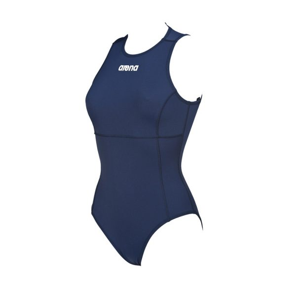 Arena Solid Navy Blue Water Polo Swimsuit