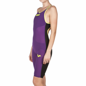 Purple Arena Carbon Air Open Back Suit