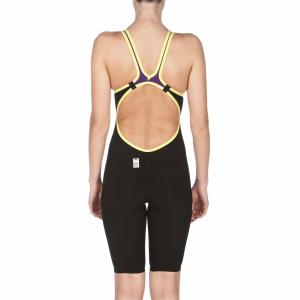 Arena Carbon Air Open Back Suit - Plum