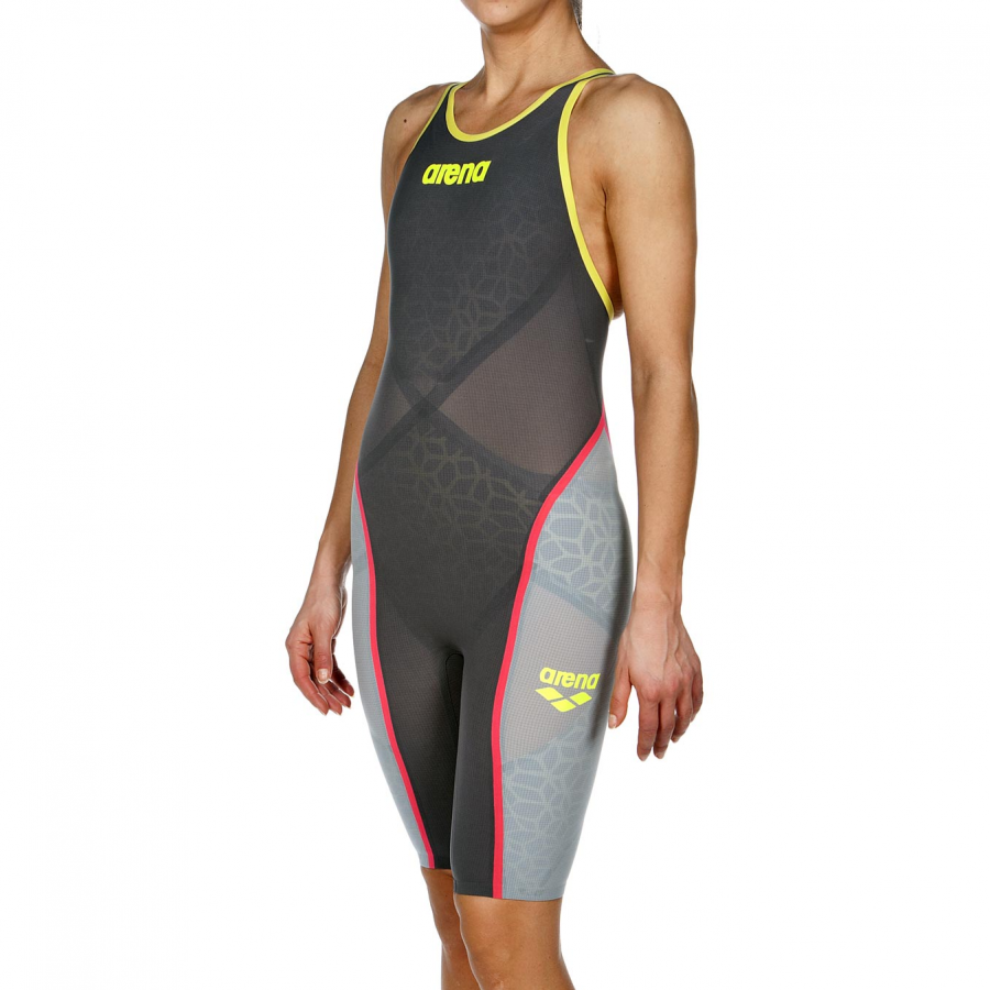 298c0612aa Dark Grey Arena Carbon Ultra Closed Back Suit is FINA approved