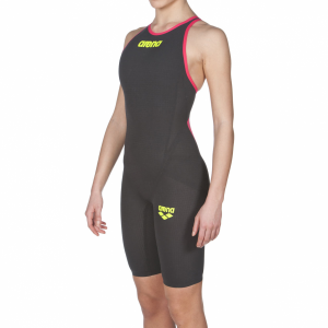 Arena Carbon Flex VX Closed Back Suit Dark Grey Red