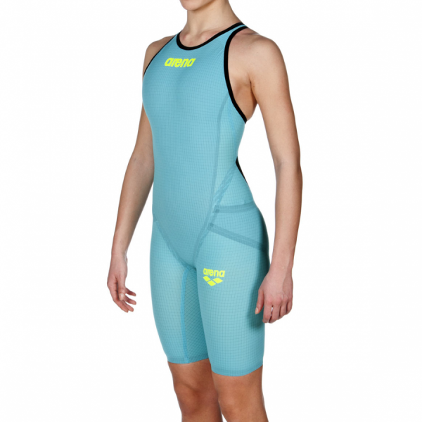 Turquoise Arena Carbon Flex VX Closed Back Suit