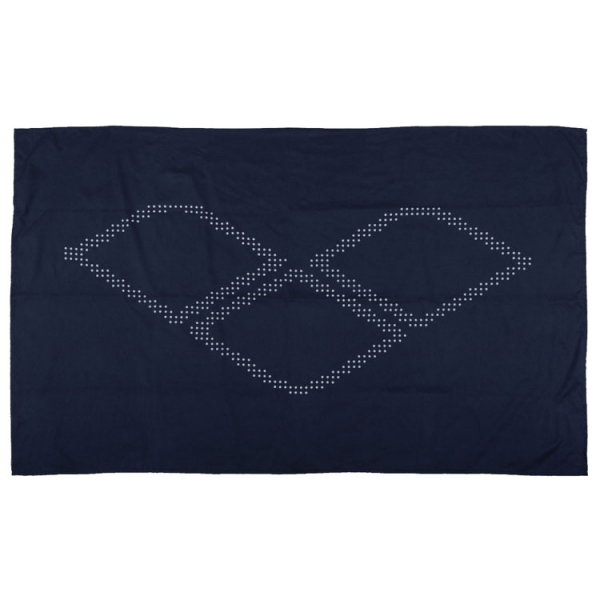 Arena Halo Microfibre Towel - Navy Blue