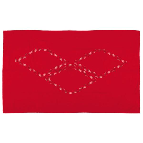 Arena Halo Microfibre Towel - Red