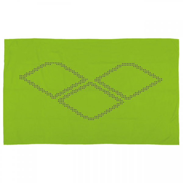 Arena Halo Microfibre Towel - Lime