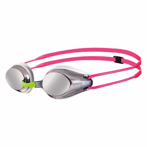 Pink Arena Tracks JUNIOR Mirrored Goggles