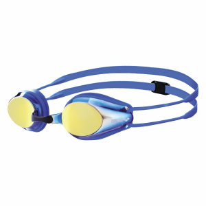 Blue Arena Tracks Mirrored JUNIOR Goggles