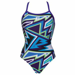 Blue Ladies Lined Swimsuit - Tulum