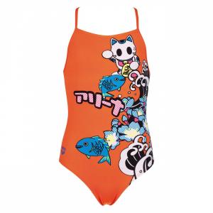 Arena Orange Junior Swimsuit - Anime