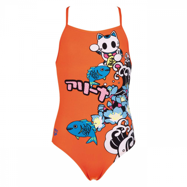 Arena Orange Junior Swimsuit - Anime