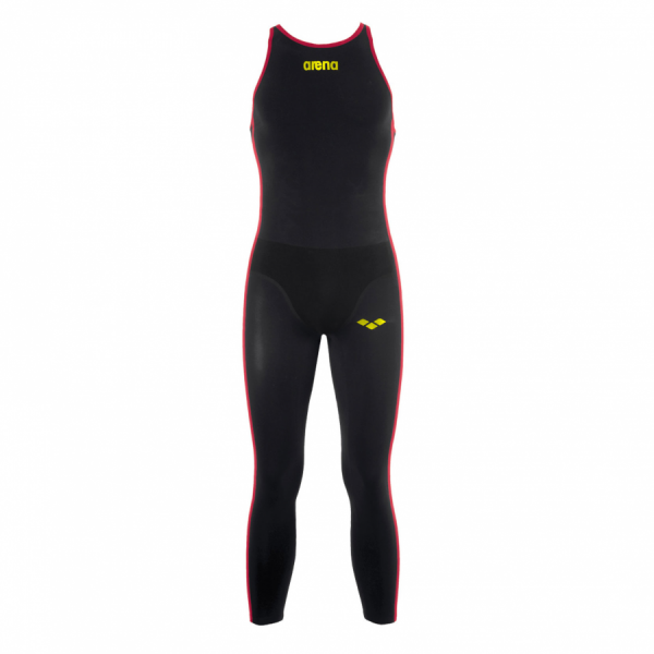 Arena R-Evo+ Men's Open Water Suit Black Yellow
