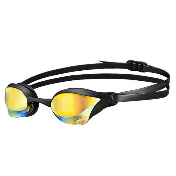 Silver Green Arena Cobra Core Mirrored Goggles