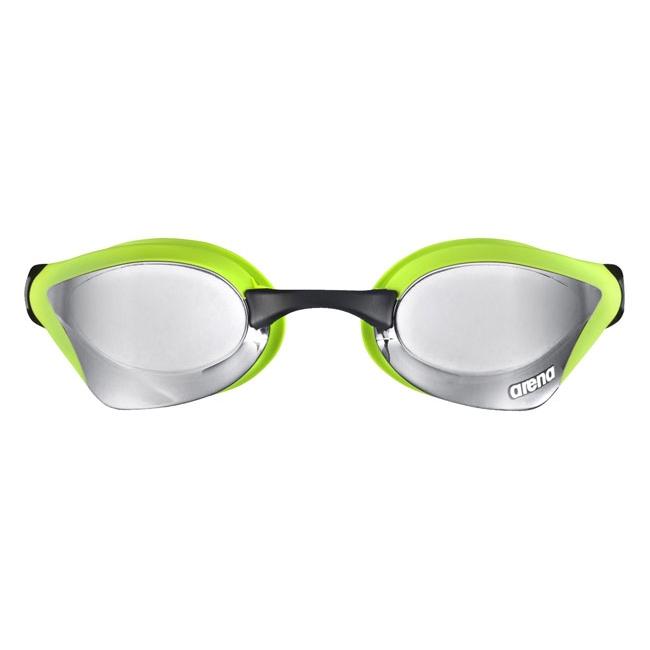 Arena Cobra Core Mirror Racing Goggles - Silver / Green