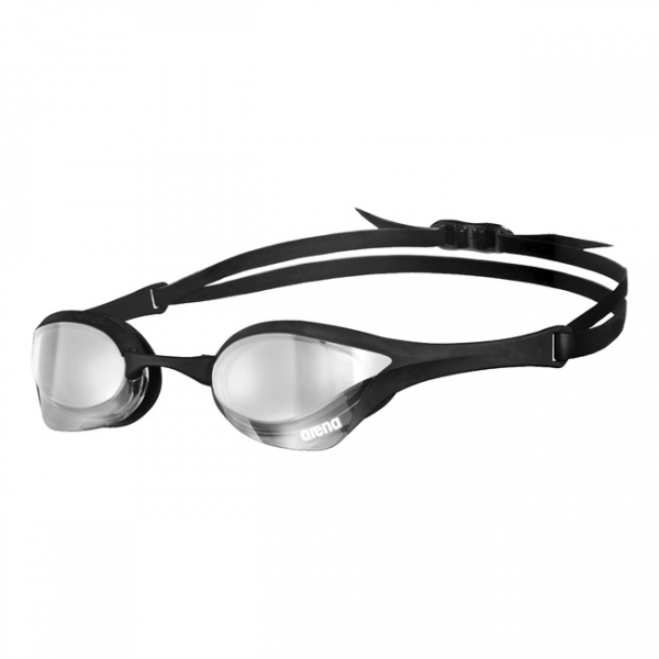 Blck Silver Arena Cobra Ultra Mirror Racing Goggles
