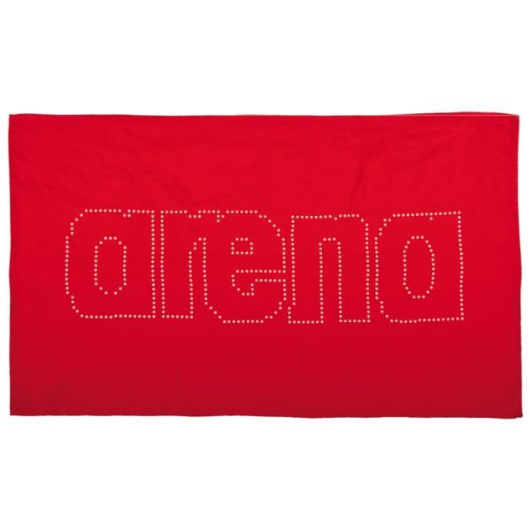 Arena Haiti Microfibre Towel - Red