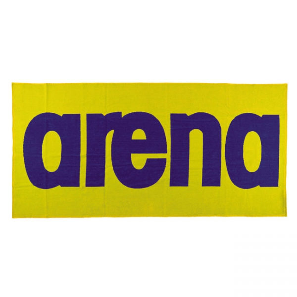 Buy Arena Logo Towel - Yellow / Blue