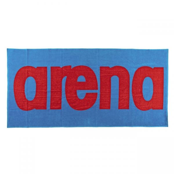 buy Arena Logo Towel - Blue / Red