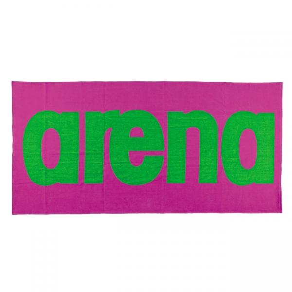 Arena Logo Towel - Pink / Green