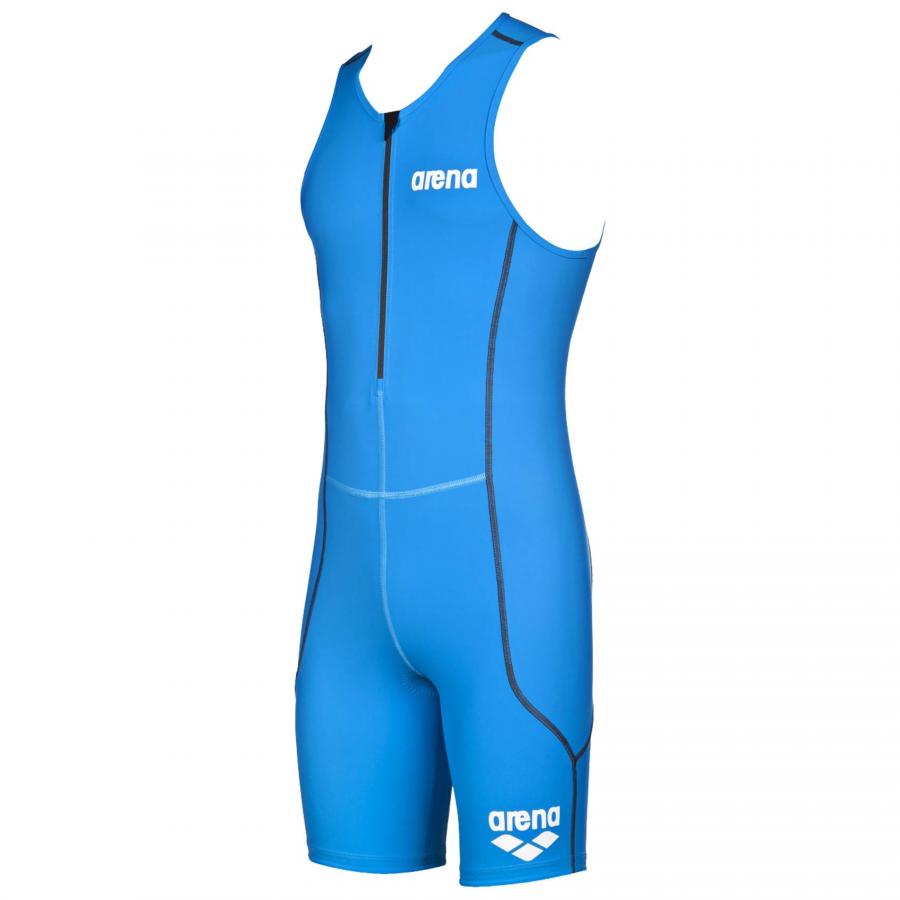 Arena Men's ST Blue Trisuit - Front Zip