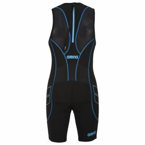 Arena Men's ST Black Trisuit - Rear Zip