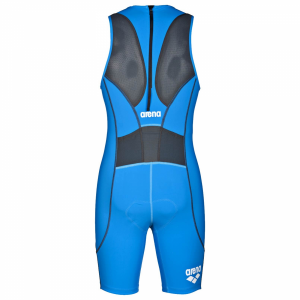 Arena Men's ST Blue Trisuit - Rear Zip