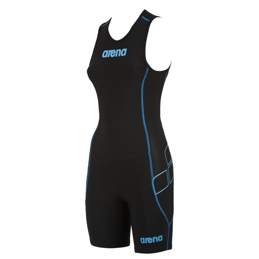 Arena Ladies ST Black Trisuit - Rear Zip