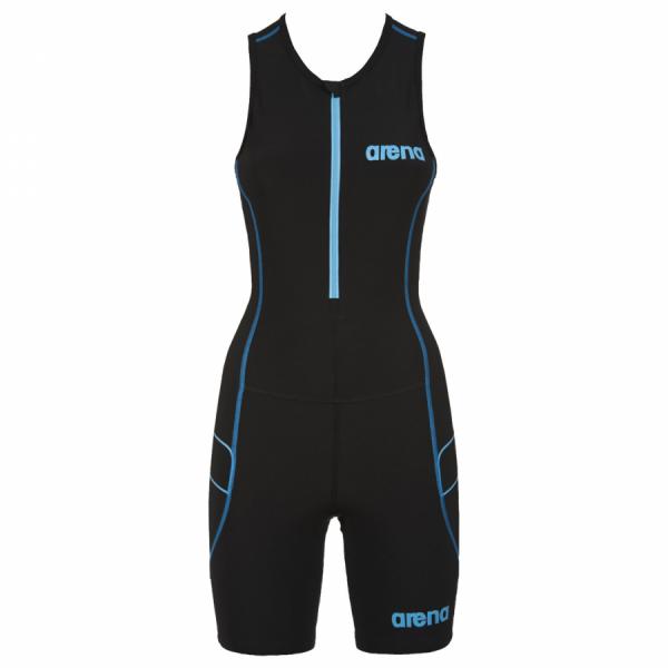 Arena Ladies ST Black Trisuit - Front Zip