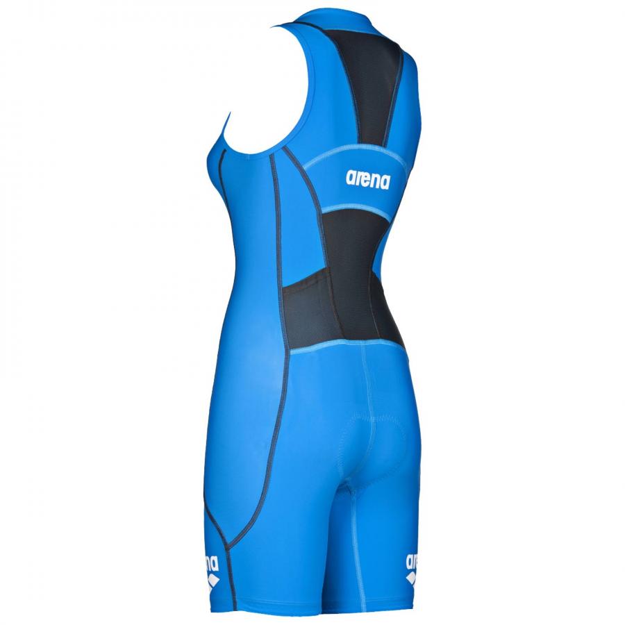 Arena Ladies ST Blue Trisuit - Front Zip