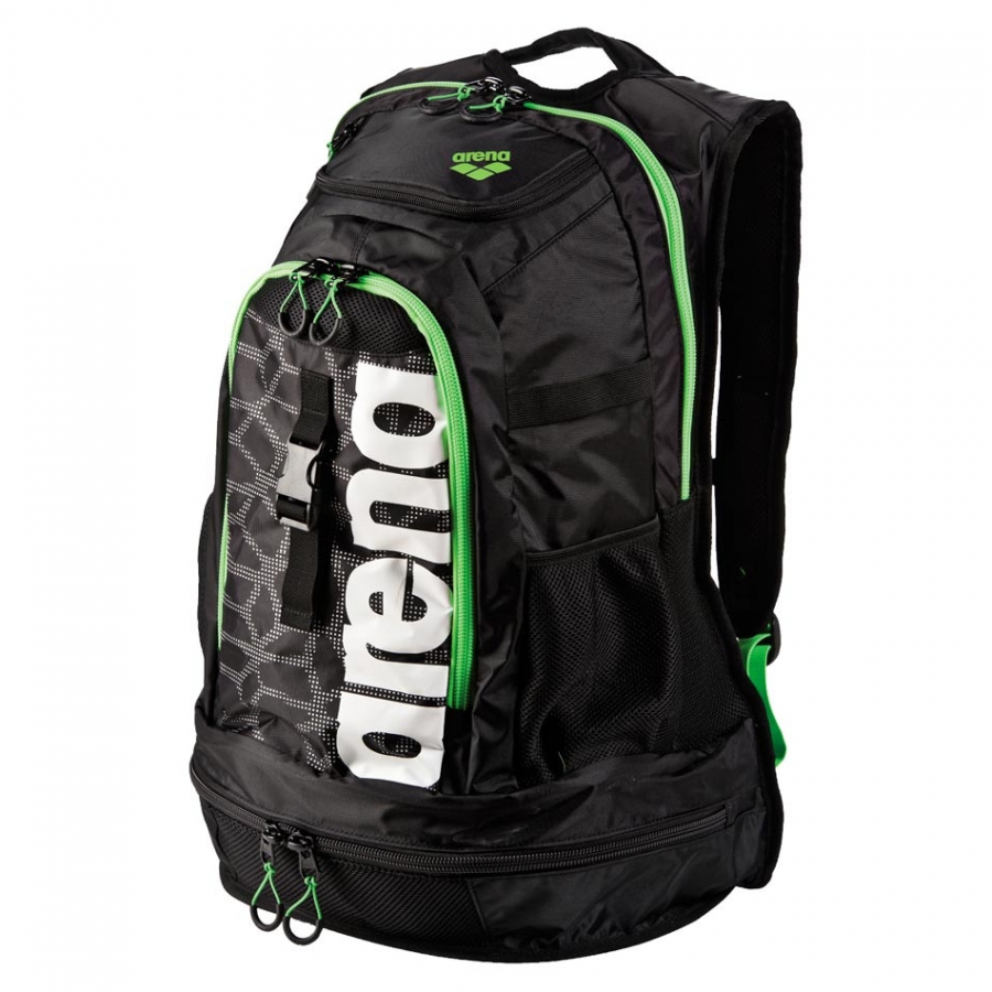 Arena Fastpack 2.1 X-Pivot Rucksack - Black / Green