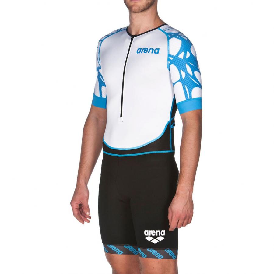 Arena Men's ST Aero Front Zip Tri Suit